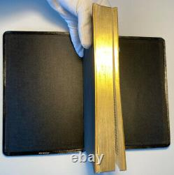 Very Rare Cambridge King James Version Holy Bible, Fine Pinseal Morocco Leather