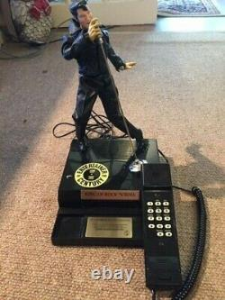Very Rare Elvis Telephone Sings & Dances Limited Edition As New