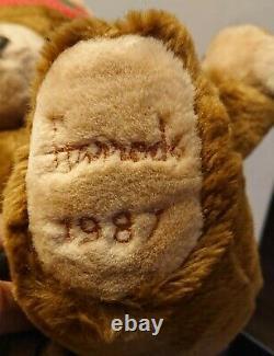 Very Rare Harrods 1987 Limited Edition (Alfie) Christmas Teddy Bear