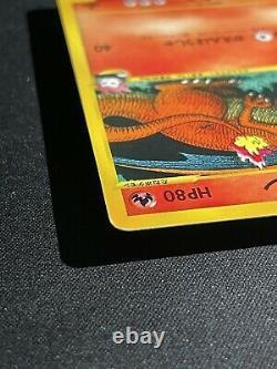 Very Rare Japanese 1st Edition Pokemon VS Lances Charizard 097/141