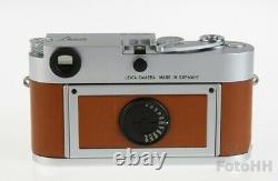 Very Rare Leica Hermes Leica Silver Chrome Mp (0,72) / Hermes Edition