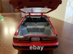 Very Rare Limited Edition 1986 Ford Mustang Svo Welly 1/18