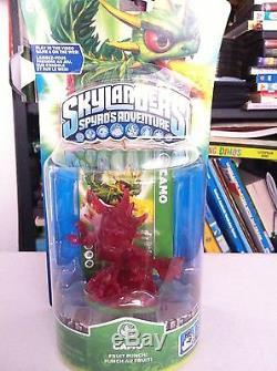 Very Rare Skylanders Fruit Punch Red Camo Variant VHTF