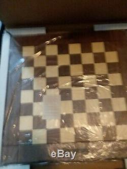 Very Rare Snap-on Tools Limited Edition Drueke Chess Set With Chess Board