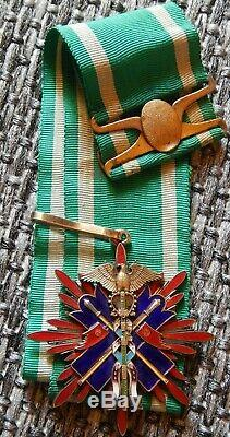 Very rare early (1900-1915 years!) variant Order of the Golden Kite 3rd Class