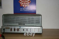 Very rare version TELEFUNKEN V ELA 306 / 1 TUBE AMPLFIER with 2 x EL 34