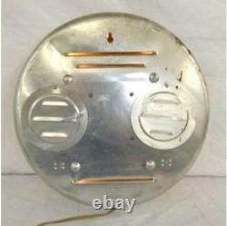Vintage 1950s SWIHART / Pam Very Rare 1st Version NU GRAPE Lighted Bubble Clock