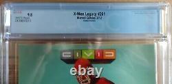 X-MEN LEGACY 261 VERY RARE VENOM VARIANT 1 of 23 CGC 9.8 1ST SERIES 2012