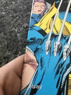 X-Men 11 Pressman Silver Variant VERY RARE 2nd print Jim Lee IN VF TO VF+