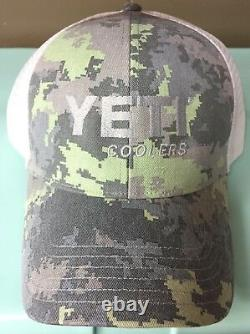 Yeti Coolers Simms Saltwater Camo Hat, Very Rare, Limited Edition