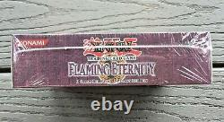 Yu-gi-oh Flaming Eternity 1st Edition Booster Box 24 Packs 103030 Very Rare F/s