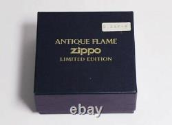 Zippo Antique Flame Stand Limited Edition Very Rare 02929