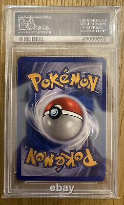 1ère Édition Dark Charizard Holo Pokemon Card Psa 8.5 Nm-mt+ Très Rare Grade
