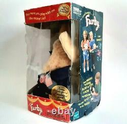 2000 Furby Pour Le Modèle Président 70-665 Édition Limitée Spéciale Boxed Very Rare