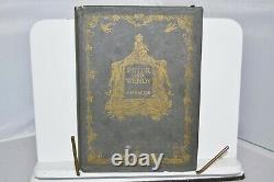 Avec Dust Jacket Peter Et Wendy J.m. Barrie 1911 Scribner Edition Very Rare