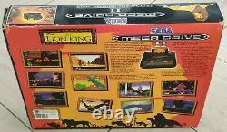 Boite Sega Mega Drive II 2 Console Le Roi Lion Edition Très Rare