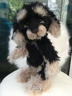 Charlie Bears Puddles Limited Edition Of Only 100 Very Rare Brand New Mohair Dog