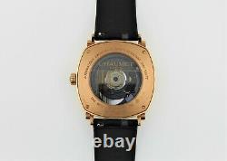 Chaumet Dandy 18k Rose Gold Automatique Montre Homme Édition Limitée #12 Très Rare