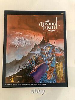 Conseil Tsr Game Fantasy Droit Divin (tres Rare Edition 1st). Inutilisé