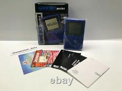 Console Jeu Boy Pocket Blue Pal Version Italienne Gig Nuovo Nouveau Très Rare