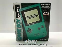 Console Jeu Garçon Pocket Vert Pal Version Italienne Gig Nuovo Nouveau Très Rare