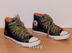 Converse Acdc Chaussures Taille 9.5 Uk Very Very Very Rare Limited Edition