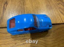 Corgi Toys 305 Mini Marcos Gt850 Whizzwheels Très Très Rare Version Bleu