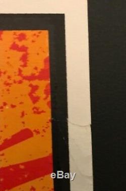 Costume Shepard Fairey Signed / Numéroté Tres Rare Première Édition -1999