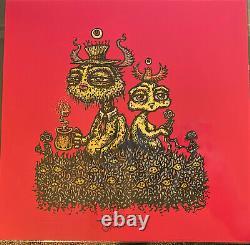 Dans Ce Ensemble Marq Spusta Très Rare Red Edition 7x7 Art Imprimer