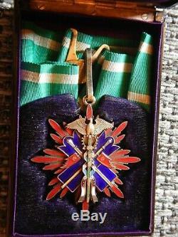 Début Des Très Rares (1900-1915 Ans!) Variante Ordre Du Cerf-volant D'or De 3e Classe
