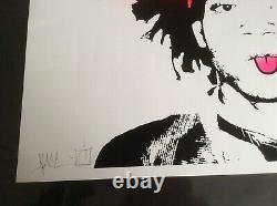 Dface'saddo' Very Rare Limited Edition Collectionable Print