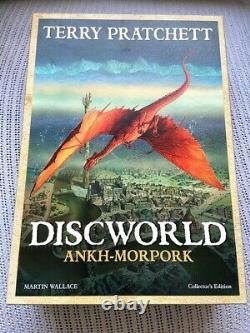 Discworld Ankh Morpork Game Collector's Edition (très Rare)