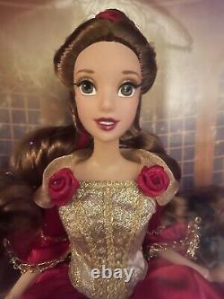 Disney Store Deluxe Beauté Et La Bête Belle Doll Edition Limitée Très Rare