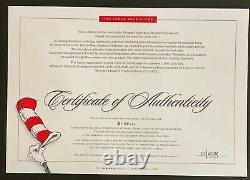 Dr. Seuss Art La Couverture Du Livre Lorax Édition Limitée Très Rare Mint