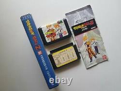 Dragon Ball Z Mega Drive Portugal Exclusif (2ème Version)voyage Rare/complete