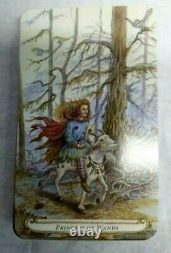 Fairy Tale Tarot, The Lisa Hunt 2009 Très Rare Épuisé Edition