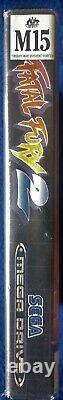Fatal Fury 2 Sega Mega Drive Genesis Pal Version Australienne Très Rare