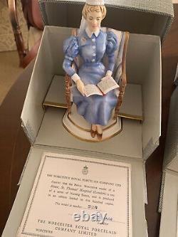 Figurines Très Rares Et Collectionnables Royal Worcester'sister En Édition Limitée