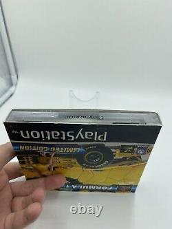 Formule 1 97 Edition Limitée Sony Playstation 1 Ps1 Pal Uk Manches Très Rare Vgc