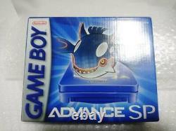 Gameboy Advance Sp Kyogre Edition Ags-001 Très Rare Du Japon