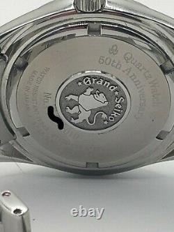 Grand Seiko Sbgn009 Gmt 50e Anniversaire Édition Limitée Très Rare Montre