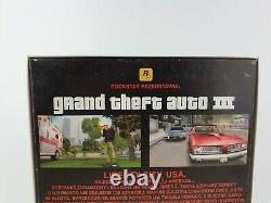 Grand Vol Auto III Gta 3 Pc Big Box Très Rare Edition Collector Pl