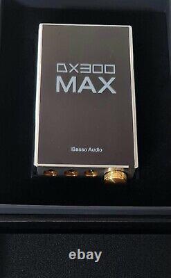 Ibasso Dx300 Max Acier Inoxydable Très Rare Version 1/400 Produit Nouveau