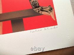 Iconique Très Rare Peter Blake Winksigned Limitée Print Edition Seulement Parfait