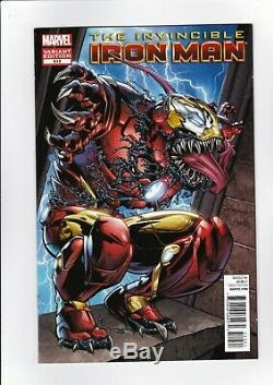 Invincible Iron Man # 512 (x Marvel N) Nm! High Res Scans! Une Variante! Htf Tres Rare