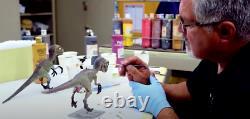 Jurassic Park Bébé Velociraptor Prop Replica Limited Edition (2/100) Très Rare