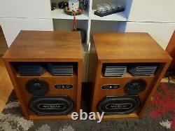 Kef Mediac - Très Rare Haut-parleurs Vintage Édition Limitée