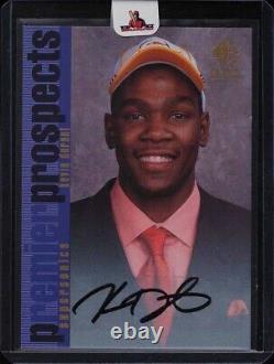 Kevin Durant Autograph Rc 2007-08 Sp Rookie Edition'96 Insert Auto Très Rare