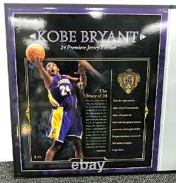 Kobe Bryant Signé Uda 24 Premier Edition 21/24 Carpe Diem Inscription Très Rare