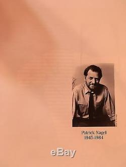L'art De Patrick Nagel (1985 Hardcover) Scellé Article 1st Edition. Très Rare